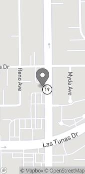 Map of 5827 Rosemead Boulevard in Temple City