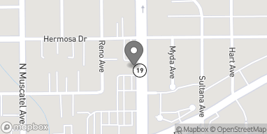 Mapa de 5827 Rosemead Boulevard en Temple City
