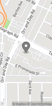 Map of 11462 Telegraph Road in Santa Fe Springs