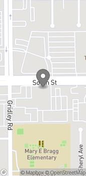 Mapa de 11440 South St en Cerritos