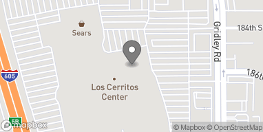 Map of 276 Los Cerritos Center in Cerritos
