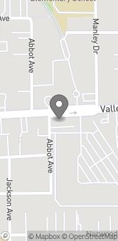 Map of 166 W Valley Blvd in San Gabriel