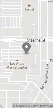 Mapa de 2170 Bellflower Blvd en Long Beach