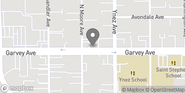 Map of 541 W Garvey Ave in Monterey Park