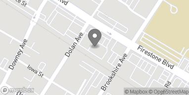 Mapa de 8420 Firestone Blvd en Downey
