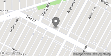Mapa de 4917 E 2nd St en Long Beach