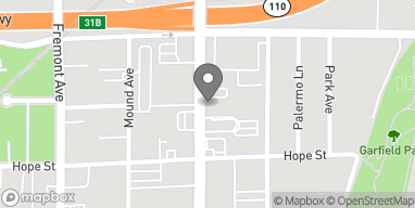 Mapa de 712 Fair Oaks Ave en South Pasadena