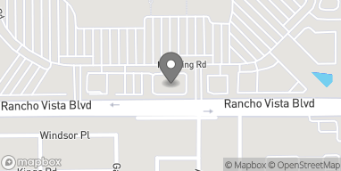 Map of 1233 Rancho Vista Blvd in Palmdale