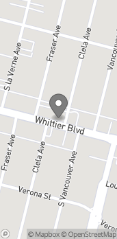 Map of 5057 Whittier Blvd in East Los Angeles