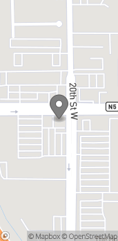 Map of 2002 W Ave J in Lancaster