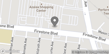 Map of 4705 Firestone Blvd in South Gate