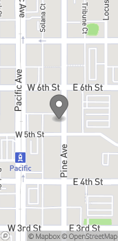 Map of 515 Pine Ave in Long Beach