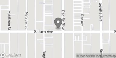 Mapa de 6833 Pacific Blvd en Huntington Park