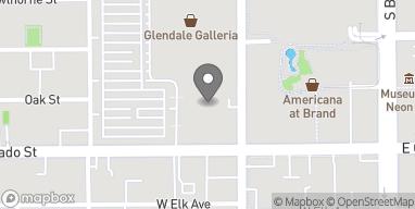 Map of 2190 Glendale Galleria in Glendale
