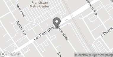 Map of 2900 Los Feliz Blvd in Los Angeles