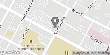 Mapa de 1605 Wilshire Blvd en Los Angeles