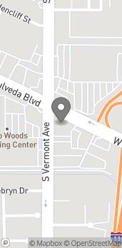 Mapa de 898 W. Sepulveda Blvd en Harbor City