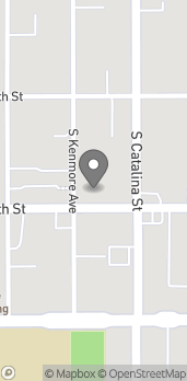 Map of 3419 W 6th Street in Los Angeles