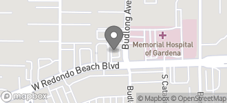 Map of 1203 W. Redondo Beach in Gardena