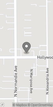 Mapa de 5065 Hollywood Blvd en Los Angeles
