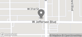 Map of 1811 W. Jefferson Blvd. in Los Angeles