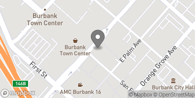 Map of 201 E Magnolia Blvd in Burbank