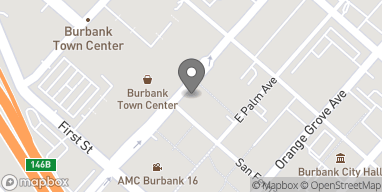 Map of 350 N San Fernando Blvd in Burbank