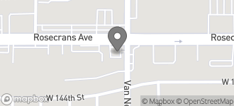 Map of 2206 W. Rosecrans Avenue in Gardena