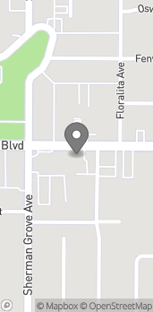 Map of 8530 Foothill Blvd in Sunland