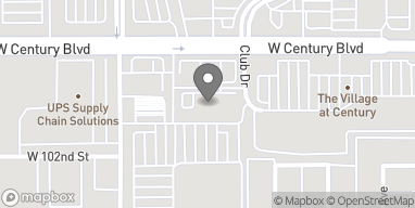 Map of 3530 W Century Blvd in Inglewood