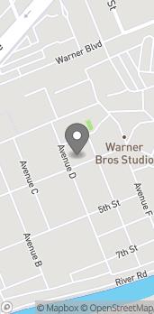 Map of 4000 Warner Bros Blvd in Burbank