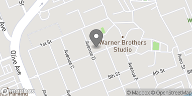 Map of 4000 Warner Bros Blvd in Burbank
