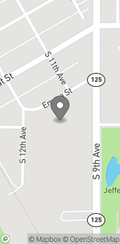 Map of 640 S 9th Ave in Walla Walla