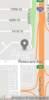 Mapa de 5249 W Rosecrans en Hawthorne