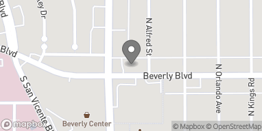 Mapa de 8471 Beverly Blvd en Los Angeles