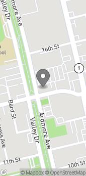Mapa de 703 Pier Ave en Hermosa Beach