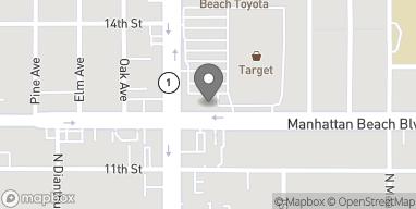 Mapa de 1130-C Sepulveda Blvd en Manhattan Beach