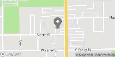 Mapa de 905 N Main St en Bishop