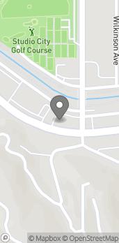 Mapa de 12511 Ventura Blvd en Studio City