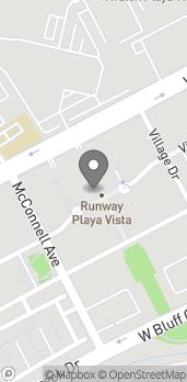 Mapa de 12746 Jefferson Blvd en Playa Vista