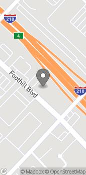 Mapa de 13679 Foothill Blvd en Sylmar