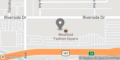 Map of 14006 Riverside Drive in Sherman Oaks