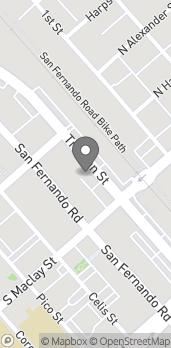 Map of 1120 Truman St in San Fernando