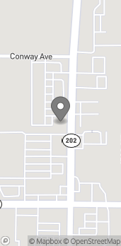 Mapa de 695 Tucker Rd en Tehachapi