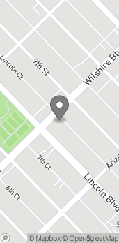 Map of 808 Wilshire Blvd in Santa Monica