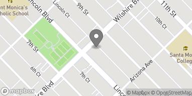 Mapa de 808 Wilshire Blvd en Santa Monica