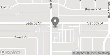 Mapa de 17288 Saticoy St en Van Nuys