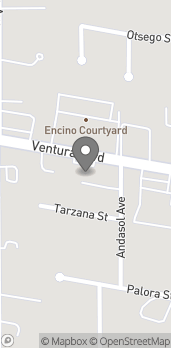 Map of 17416 Ventura Blvd in Encino