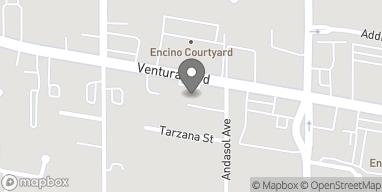 Map of 17416 Ventura Blvd in Encino