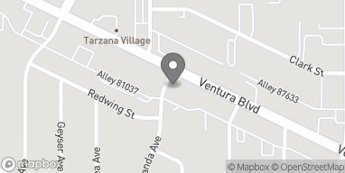 Map of 18640 Ventura Blvd in Tarzana